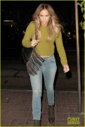 Jennifer Lopez - Out for dinner in West Hollywood 11/12/14