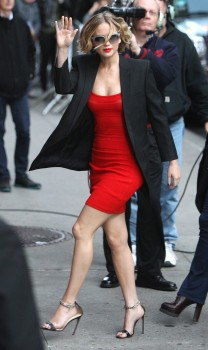 Jennifer Lawrence Going to and at the 'Late Show with David Letterman' in NYC 11/12/14 21