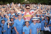 Katy Perry - Sexy Legs - Loreto Mandeville Hall High School - Toorak, Australia - Nov 13 2014