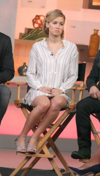 Jennifer Lawrence 'Good Morning America' in NYC 11/13/14 12