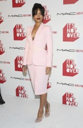"""Rihanna - MAC Cosmetics And MAC AIDS Fund World Premiere Of """"It's Not Over"""" in LA 11/18/14"""