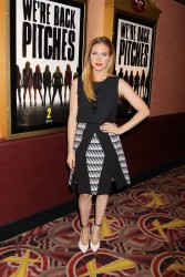 Britanny Snow Pitch Perfect Sing Along Screening in NY 11/19/14 11