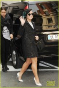 Demi Lovato - Going to a meeting in Paris 11/21/14