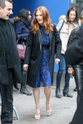 Julianne Moore and Mark Ruffalo visit Good Morning America November 20-2014 x55