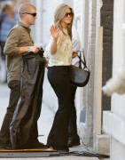 Jennifer Aniston - Arriving at 'Jimmy Kimmel Live!' in Hollywood 11/24/14