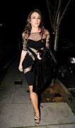 Elizabeth Hurley Leaves her home in London November 24-2014 x14