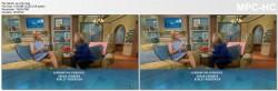 CHERYL HINES *upskirt, legs* - meredith vieira show - 11.25.2014