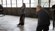 Lauren Cohan - Women's Health magazine, Behind the Scenes 2014