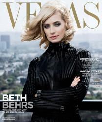 Beth Behrs Vegas Magazine December 2014 HQ's