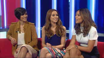 The Saturdays - Sunrise With Eamonn Holmes 14th May 2014 1080i HDMania