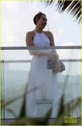 Miley Cyrus - Having dinner in Miami 12/5/14