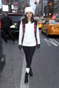 Victoria Justice - AEO GetDownNYC Party Bus - 12/5/14