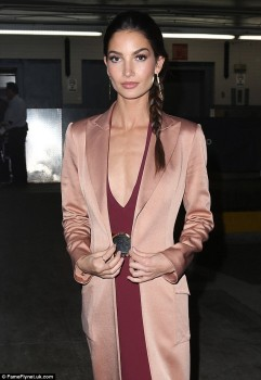 Lily Aldridge - New York - x 5 lq