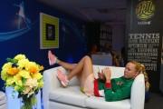 Caroline Wozniacki Relaxes during Coca-Cola International Premier Tennis League December 6-2014 x4
