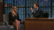 Eliza Coupe @ Late Night with Seth Meyers | December 8 2014