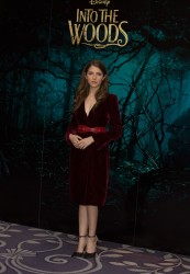Anna Kendrick - Into the Woods Photocall in London 12/12/14