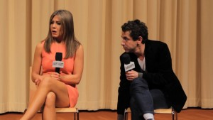 Jennifer Aniston Answers Fan's Question at 'Cake'