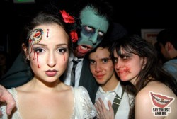 Milana Vayntrub at Saint Motel's 2nd Annual Zombie Prom at The Roxy Theatre in Los Angeles - 2/13/10