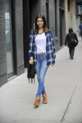 Victoria Justice - Out & About in NYC - 12/16/14