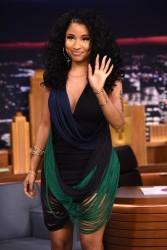 Nicki Minaj - On the Tonight Show starring Jimmy Fallon in NYC 12/16/14