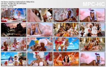 Katy Perry - California Gurls - Official Music Video - 1080p HD - Caps+Vid