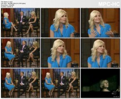 ELISHA CUTHBERT *interview* and KELLY RIPA legs - 6.21.2007