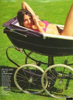 Penelope Cruz: Pink Bikini In A Baby Stroller: - HQ x 1