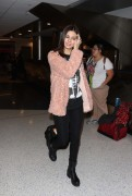 Victoria Justice - Arrives at LAX - 1/1/15
