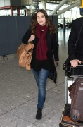 Keira Knightley Departs Heathrow Airport and arrives at LAX January 8-2015 x73