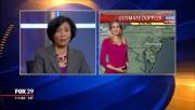Caitlin Roth -weatherperson- Fox29 Philadelphia PA Jan 10 2015