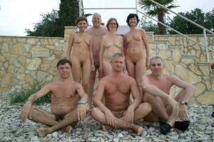 Family Members Nude