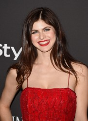 Alexandra Daddario - InStyle and Warner Bros. Golden Globes After Party 1/11/15