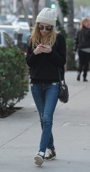 Emma Roberts - Out and about in Beverly Hills 1/12/15