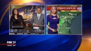 Caitlin Roth -weatherperson- Fox29 Philadelphia PA Jan 11 2015