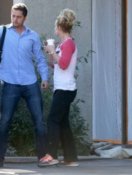 Britney Spears - Leaving a dance studio in Thousand Oaks 1/13/15