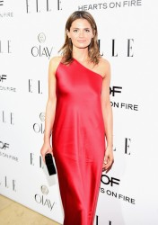 Stana Katic - ELLE's Annual Women in Television Celebration 1/13/15