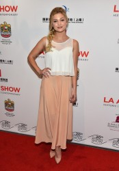 Olivia Holt - LA Art Show Opening Night Premiere Party 1/14/15