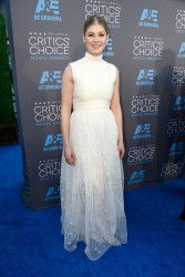 Rosamund Pike - 20th Annual Critics' Choice Movie Awards in LA 1/15/15