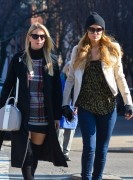 Paris & Nicky Hilton - Shopping in NYC 1/15/15