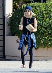 Emma Roberts - Out in LA 1/19/15