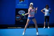 Alize Cornet  2015 Australian Open practice session January 2015 x13