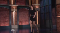 Ruth Wilson on Seth Meyers 1-19-15 (V/C)
