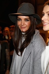 Katie Holmes - Marc Cain Autumn/Winter 2015/16 Fashion Show in Berlin 1/20/15