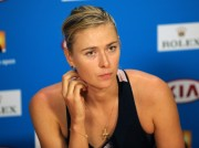 Maria Sharapova Press conference after her 2nd round at the 2015 Australian Open January  21-2015 x3