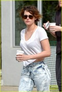Kristen Stewart - Out & About in LA 1/29/15