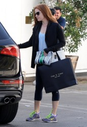 Amy Adams - Shopping in West Hollywood 2/6/15