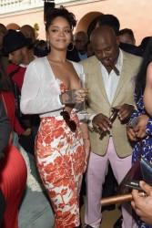 Rihanna - Roc Nation 2015 Pre-GRAMMY Brunch in Beverly Hills 2/7/15