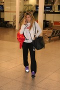 Eugenie Bouchard seen at Montreal airport February 6-2015 x7