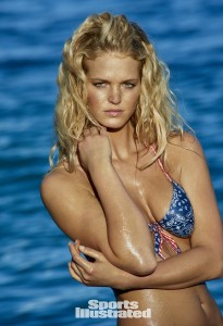 Erin Heatherton SI 2015 Body Paint
