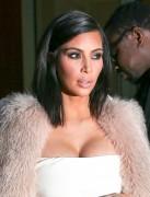 Kim Kardashian - Going to the 'Kardashian Beauty' Launch in NYC 2/10/15